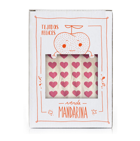 Verde Mandarina | Handcrafted fabrics