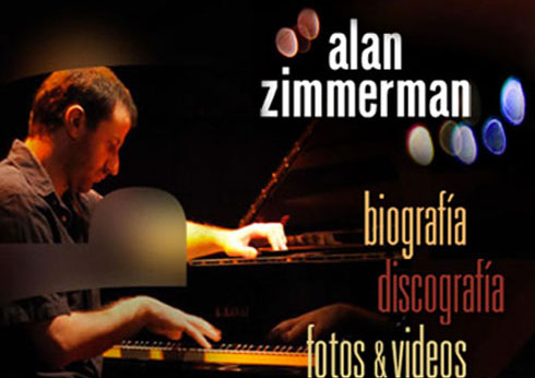 Alan Zimmerman – Piano | Music player