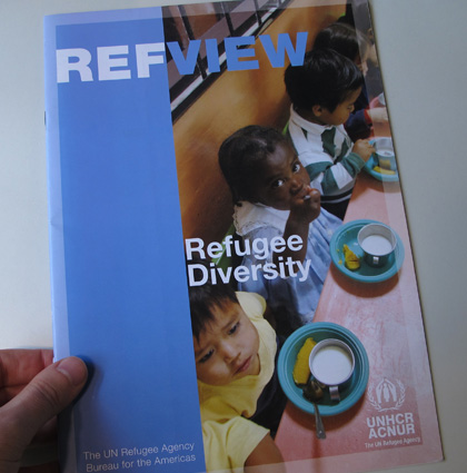 Acnur, Refview |  Journal of the United Nations for refugees