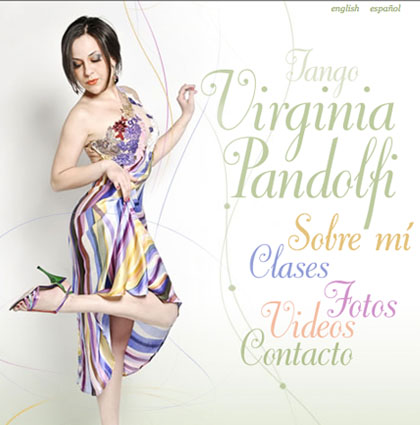 Virginia Pandolfi | Tango teacher & dancer