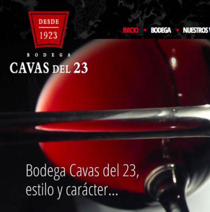 Cavas del 23 |  Bodega