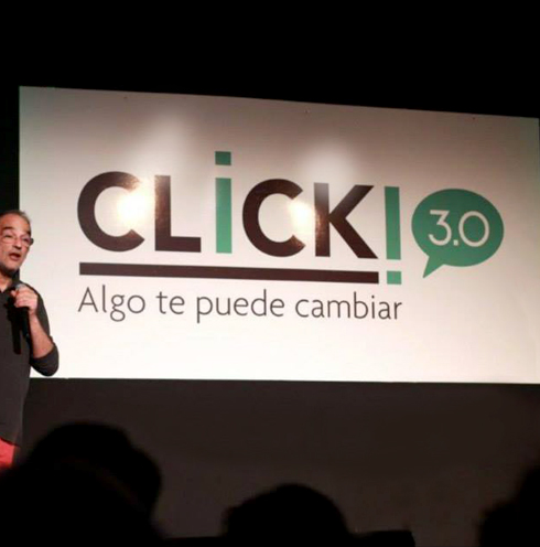 Click Argentina | Evento de charlas cortas inspiracionales