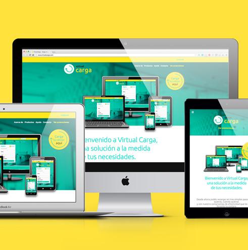 Virtual Carga | Sistema de Recarga online
