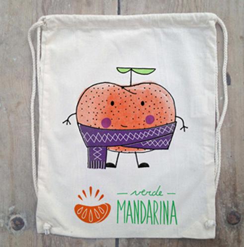 Verde Mandarina | Tejidos artesanales para niños