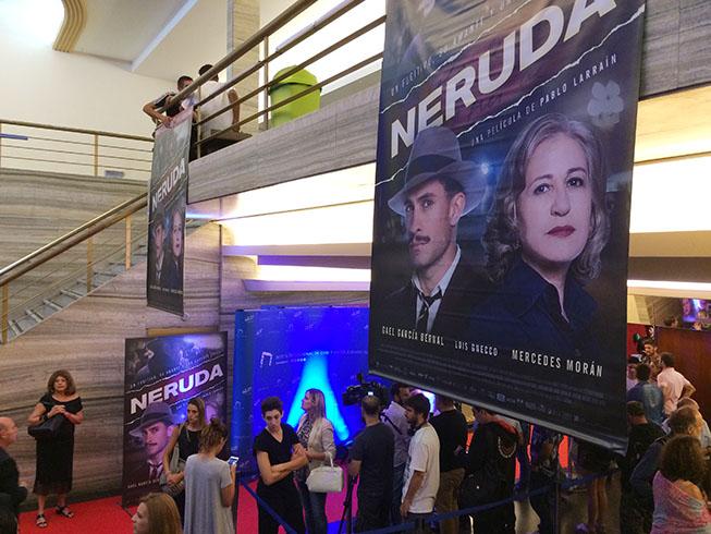 Estreno Neruda