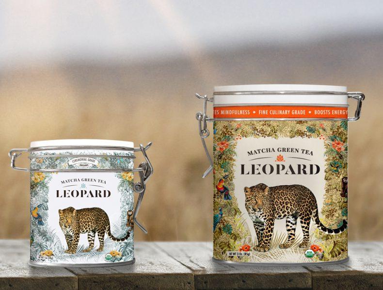 Leopard | Matcha green tea