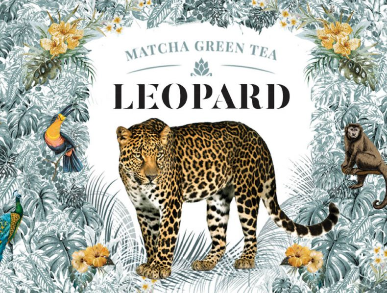Leopard | Matcha green tea